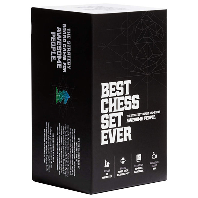 The Best Chess Set Ever - Black