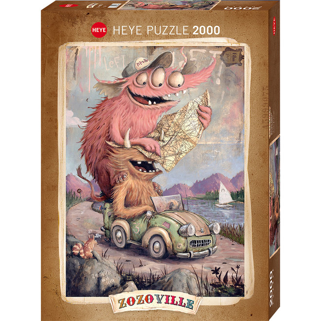 Zozoville: Road Tripping - 2000 pcs