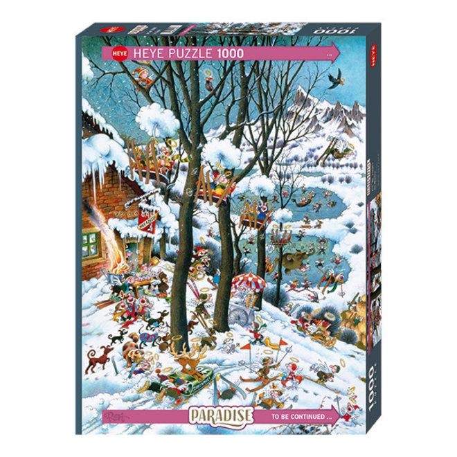 Paradise: In Winter - 1000 pcs