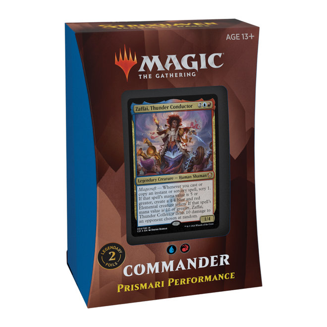 MtG: Strixhaven Commander Deck - Prismari Performance