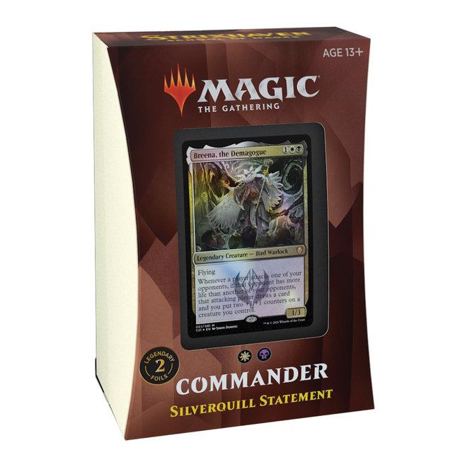 MtG: Strixhaven Commander Deck - Silverquill Statement
