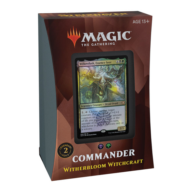 MtG: Strixhaven Commander Deck - Witherbloom Witchcraft