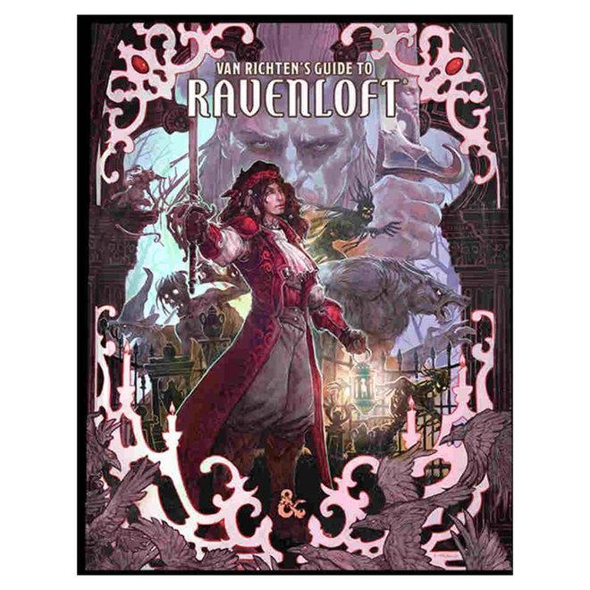 D&D: Van Richten's Guide to Ravenloft - Alt Cover