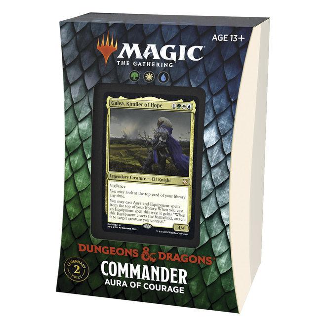 MtG: Adventures in the Forgotten Realms Commander - Aura of Courage