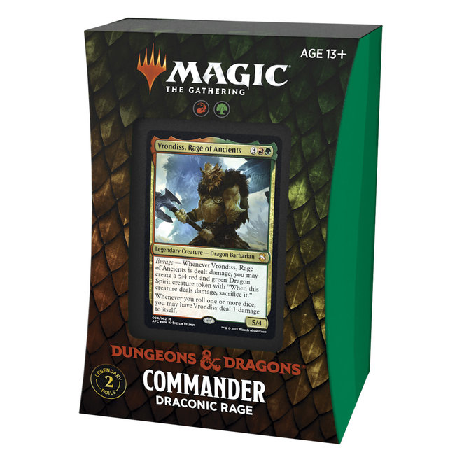 MtG: Adventures in the Forgotten Realms Commander - Draconic Rage
