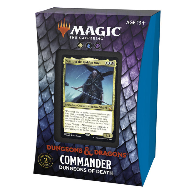MtG: Adventures in the Forgotten Realms Commander - Dungeons of Death