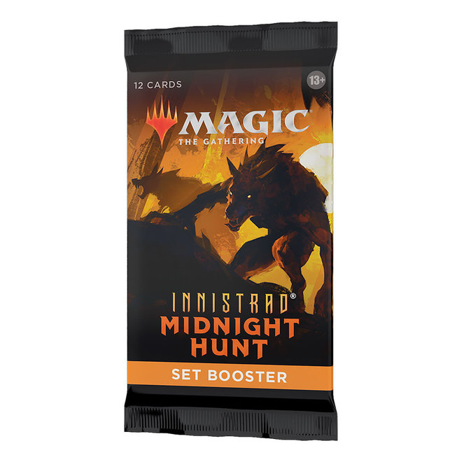 MtG: Innistrad: Midnight Hunt Set Booster Pack
