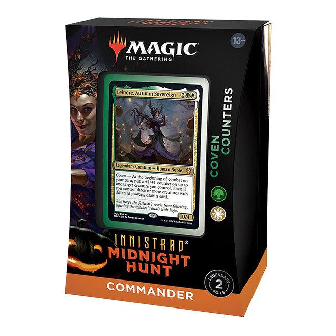 MtG: Innistrad: Midnight Hunt Commander - Coven Counters