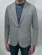 Eleventy Eleventy Grey Pique Soft Coat