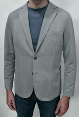 Eleventy Eleventy Grey Pique Soft Coat