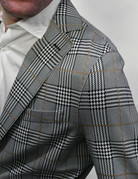 Eleventy Eleventy Printed Plaid Sportcoat