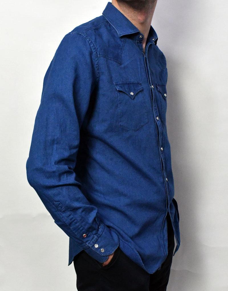 Bolzonella Bolzonella LS Denim Shirt w/Snap Buttons