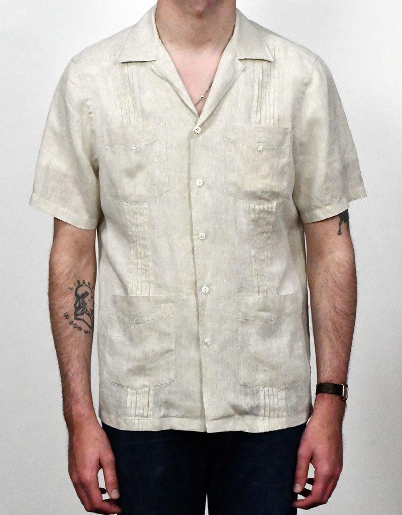 Lardini Lardini  Guayabera Linen Shirt