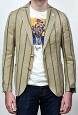 Lardini Lardini Tan Stripe Sportcoat
