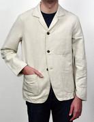 C.O.F. Studio C.O.F. Studio Natural Linen Painter's Jacket