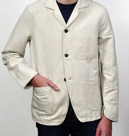 C.O.F. Studio C.O.F. Studio Natural Linen Painter's Jacket