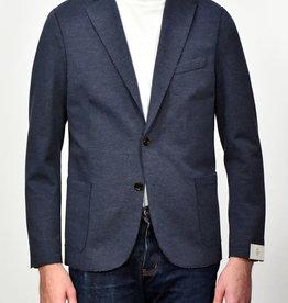 Eleventy Eleventy Navy Jersey Pique Jacket