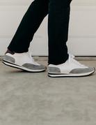 Scarpe di Bianco Scarpe di Bianco Leather Running Shoe