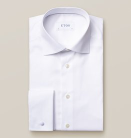 Eton Eton Contemporary Fit White French Cuff Dress Shirt