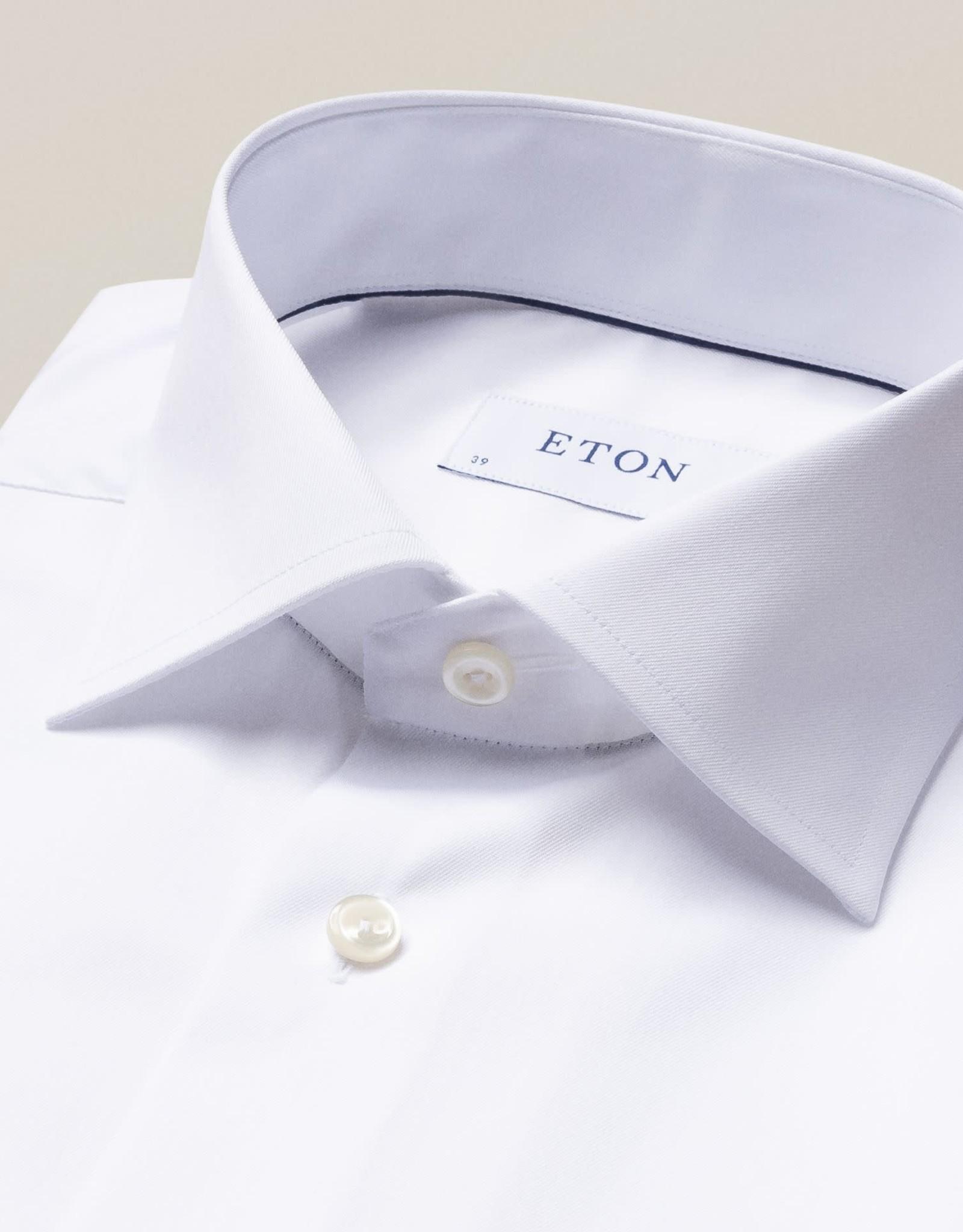 Eton Eton Contemporary Fit White French Cuff Dress Shirt