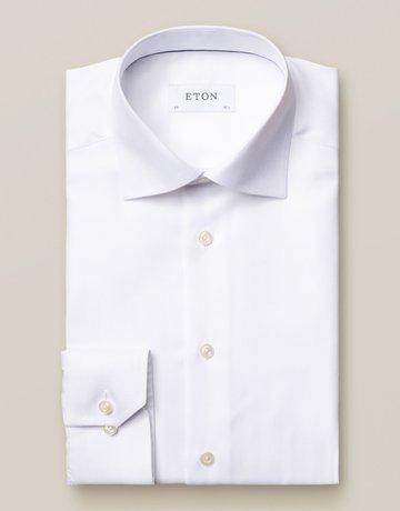Eton Eton Contemporary Fit Herringbone Pattern