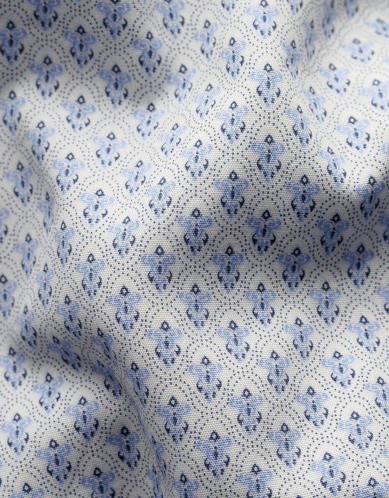 Eton Eton Contemporary Fit Blue Fancy Print