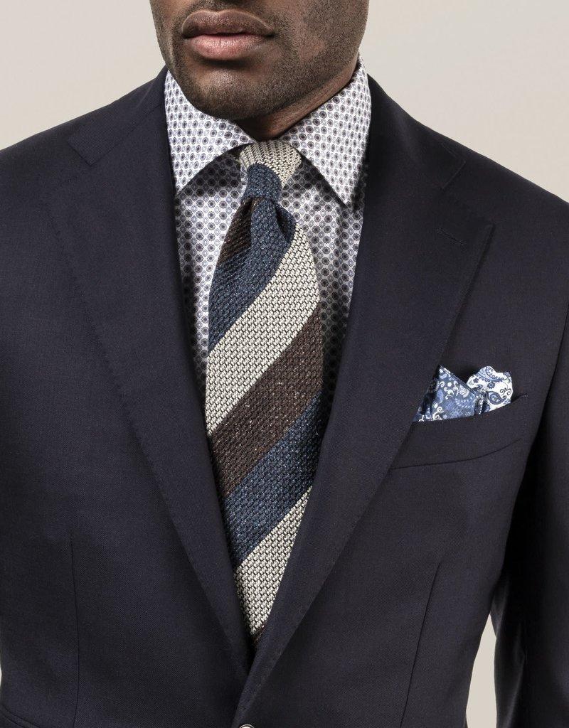 Eton Eton Contemporary Fit Blue Floral