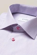 Eton Eton Contemporary Fit Pink Squares