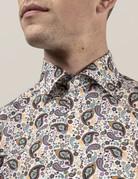 Eton Eton Contemporary Fit Dress Shirt Multi Paisley