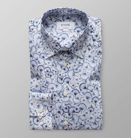 Eton Eton Contemporary Fit Dress Shirt Blue Dandelion