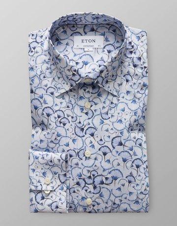 Eton Eton Contemporary Fit Dress Shirt Blue Dandelion