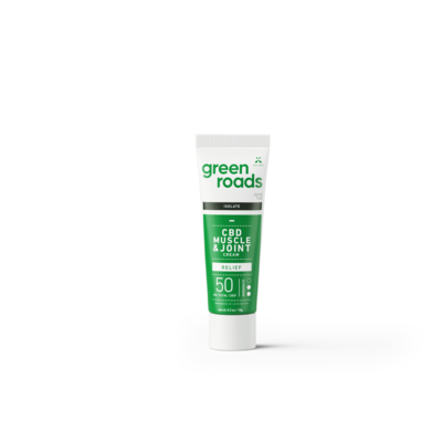 GREEN ROADS CBD GREEN ROADS CBD INFUSED MUSCLE & JOINT RELIEF CREAM