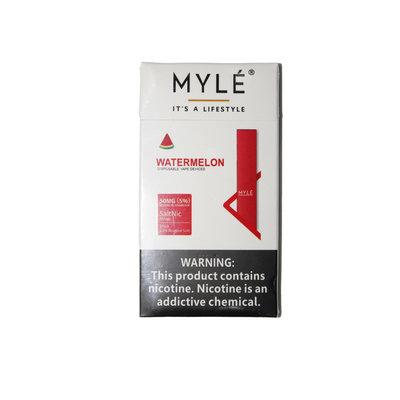 MYLE MYLE DISPOSABLE VAPE DEVICE 5% SALT NIC - WATERMELON