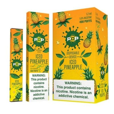 POP POP DISPOSABLE DEVICE 5.0% - ICED PINEAPPLE