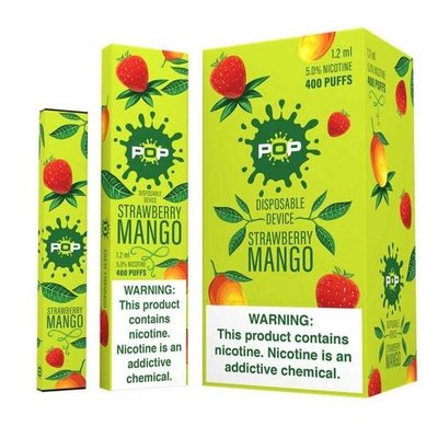 POP POP DISPOSABLE DEVICE 5.0% - STRAWBERRY MANGO