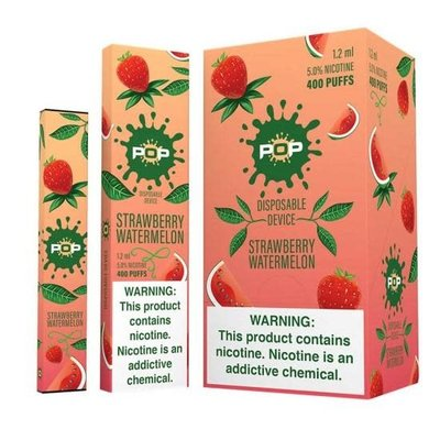 POP POP DISPOSABLE DEVICE 5.0% - STRAWBERRY WATERMELON