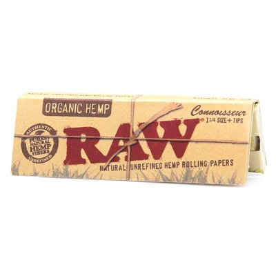 RAW RAW CONNOISSEUR ORGANIC PAPERS + TIPS