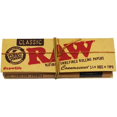 RAW RAW CONNOISSEUR CLASSIC PAPERS + TIPS