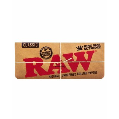 RAW RAW CLASSIC - SUPREME ROLLING PAPER KINGSIZE