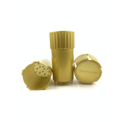 GRINDER MEDTAINER XL SMELL PROOF/pc - GOLD