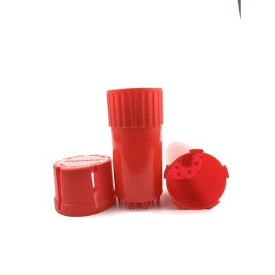GRINDER MEDTAINER XL SMELL PROOF/pc - RED