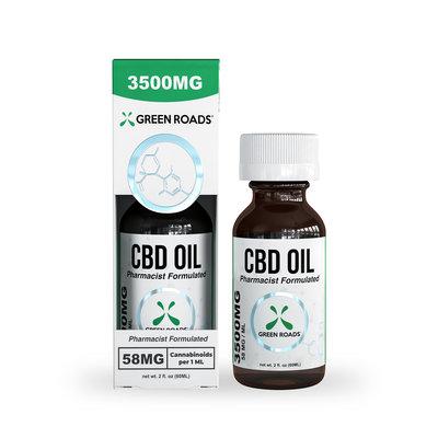 GREEN ROADS CBD GREEN ROADS CBD OIL - 60ML