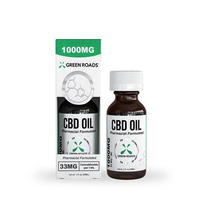GREEN ROADS CBD GREEN ROADS CBD OIL - 30ML