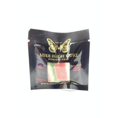 MILE HIGH MILE HIGH CURE CBD GUMMIES - 100MG