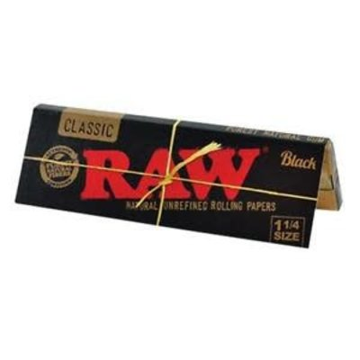 RAW RAW CLASSIC - BLACK