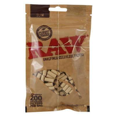 RAW RAW - UNREFINED CELLULOSE FILTERS 200/BAG