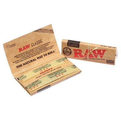 RAW RAW CLASSIC PAPERS - SINGLE WIDE