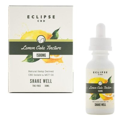 ECLIPSE ECLIPSE CBD ISOLATE & MCT OIL - LEMON CAKE TINCTURE