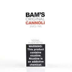 BAM'S BAM'S E-JUICE 100ML - ORIGINAL CANNOLI