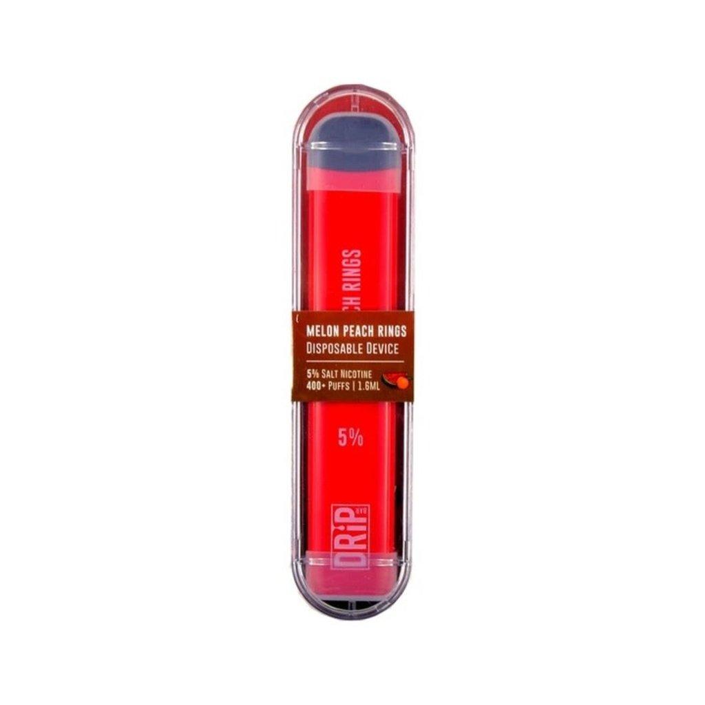 Drip Bar DRIP BAR DISPOSABLE DEVICE 5% 1.6ML - MELON PEACH RINGS